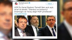 Bildirici: Yalan haberi 2 gün manşette tuttular Hürriyet'in tirajı daha da düşecek, yok edecekler