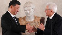 Çin lideri Şi İtalya'da: Serie A'nın ilk hafta maçları Çin'de oynansın