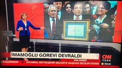 CNN Türk İmamoğlu'nun mazbata görüntüsünü bulamayınca fotomontaj mı yaptı?