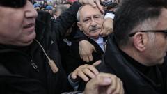 CHP lideri Kemal Kılıçdaroğlu'na saldırı! İşte o anlar