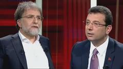 Ahmet Hakan ve Ekrem İmamoğlu arasında Tevfik Göksu tartışması