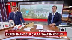Ekrem İmamoğlu'nun konuk olduğu İsmail Küçükkaya ile Çalar Saat tüm ana haberleri geçti!