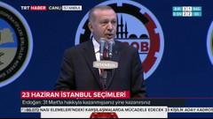 Erdoğan: UBER'in başındaki şahıs randevu istedi, vermedim!