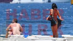 Zehra Çilingiroğlu sevgilisiyle tatil sezonunu açtı