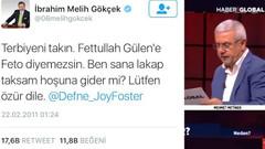 AKP'li Metiner Gökçek'in FETÖ övgüsüne İmamoğlu'nun mesajı dedi