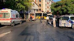 İstanbul'da halk otobüsü dükkâna girdi: Ölü ve yaralılar var