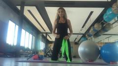 Gülman Sumru Somer ile evde en kolay kalça sıkılaştırma egzersizleri