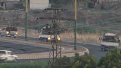 Mardin'de 3 kamyonette 50 terörist böyle görüntülendi