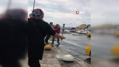Esenler Otogarında taksicilere tepki