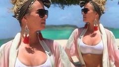 Khloe Kardashian'ın bikinili paylaşımı yürek hoplattı