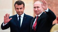 Son dakika: Putin ve Macron'un basın toplantısı başladı
