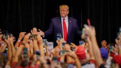 Trump kendisini İsrail'in Kralı ilan etti