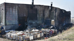 Çorlu'da atık tesisi 12 saat boyunca yandı, kimyasal gazlar havaya salındı