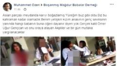 CHP'den Emine Bulut'un katiline aslan parçası diyen dernek başkanına dava