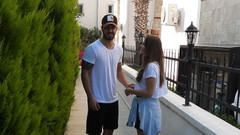 Murat Boz ve Aslı Enver'den aile ziyareti