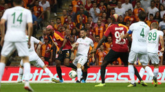 Galatasaray sonunu getiremedi: 1-1