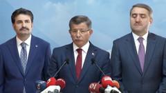 Ahmet Davutoğlu AKP'den bu sözlerle istifa etti!