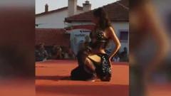 Burçin Orhon: Kızım diye demiyorum ama güzel dans ediyor