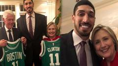 Hillary Clinton FETÖ'cü Enes Kanter'i yemeğe davet etti