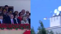 Erdoğan'ın üzerinden alçak uçuş yapan pilot konuştu