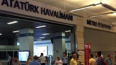 Atatürk Havalimanı'na metro seferleri durduruldu