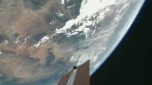 NASA uzay istasyonundan canlı yayın!