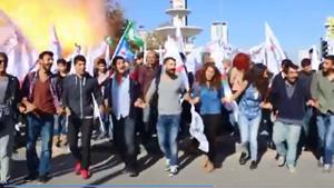 İşte Ankara'da meydana gelen patlama anı!