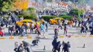 Ankara'da patlama güvenlik kamerasında