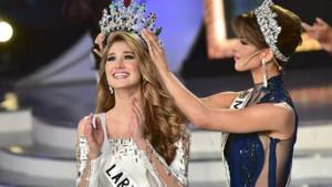 Venezuela'nın yeni güzeli Suriyeli çıktı