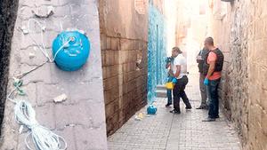 Diyarbakır'da PKK'dan elektrikli tuzak