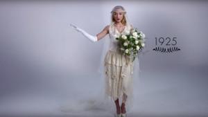 Düğün modasının 100 yıllık değişimi