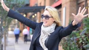 Kate Winslet'ın 40 yaş sevinci