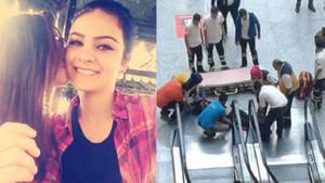Alışveriş merkezinde intihar etti