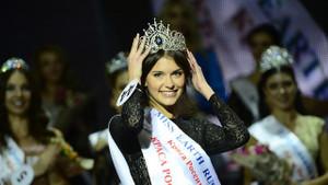 Cherepanova Rusya'nın en güzeli seçildi