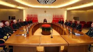 Erdoğan YAŞ kararlarını onayladı