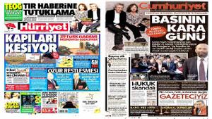 Gazeteler Can Dündar'ın tutuklanmasını nasıl gördü?