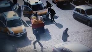 Şehit polis Ahmet Çiftaslan'ın vurulma anı!