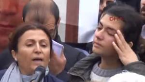 Türkan Elçi'nin sözleri herkesi ağlattı