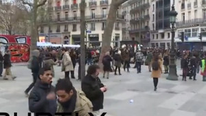 Paris'te iklim protestosuna sert müdahale!
