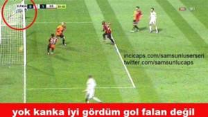 Kasımpaşaspor Galatasaray maçı capsleri