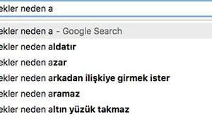 Google'da Türk erkekleri