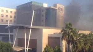 Antalya'da ki patlamadan ilk görüntüler