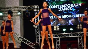 Bodrumlu dansçı kızlar Ukrayna'yı salladı