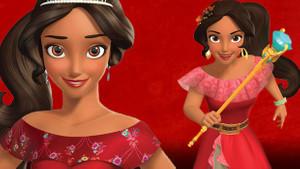 Disney'de ilklerin prensesi Elena!