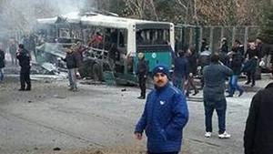 Kayseri'de patlama.. Olay yerinden gelen son görüntüler..