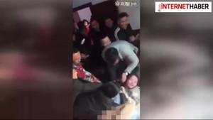 Çin'de İğrenç bir düğün geleneği!