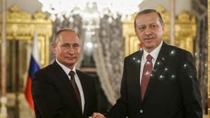 Vladimir Putin'den Erdoğan'a yeni yıl mesajı