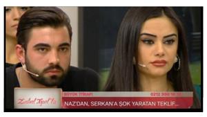Naz: Yoluma Serkan'la devam etmek istiyorum