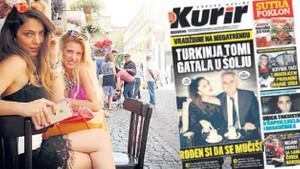 Ceren Yılmaz'ın kahve falı Sırbistan'ı karıştırdı