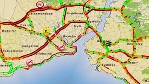 İstanbul trafiğinde kırmızı alarm
